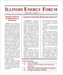 IL Energy Association newsletter